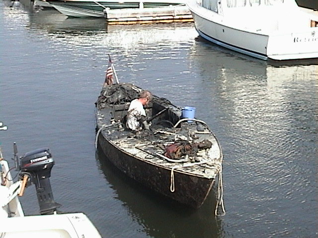 The salvage of shields for Outboard motor salvage yard
